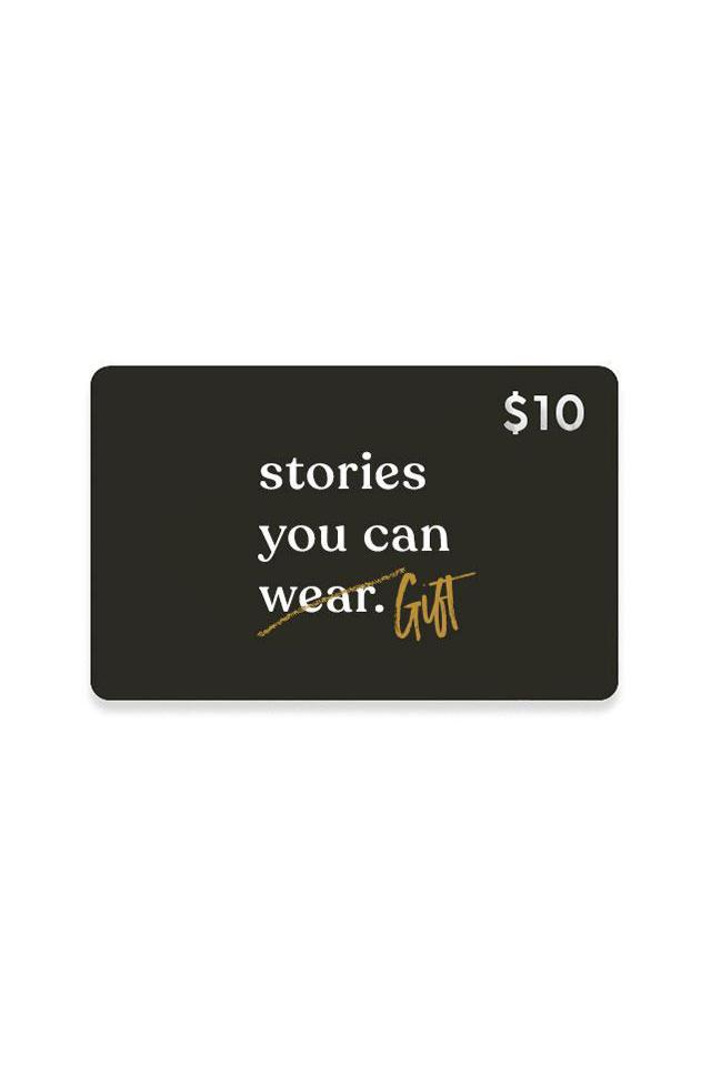 $10 Gift Card - Stories You Can Wear by Thread Tank