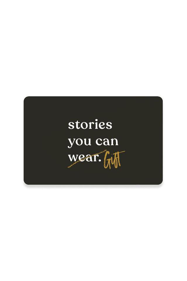 $5 Gift Card - Stories You Can Wear by Thread Tank
