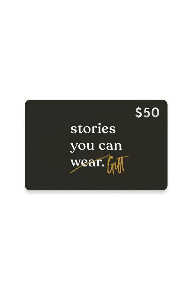 $50 Gift Card - Stories You Can Wear by Thread Tank