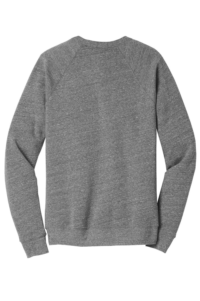Shhhh No One Cares Cozy Fleece Longsleeves Sweater Heather Grey BACK