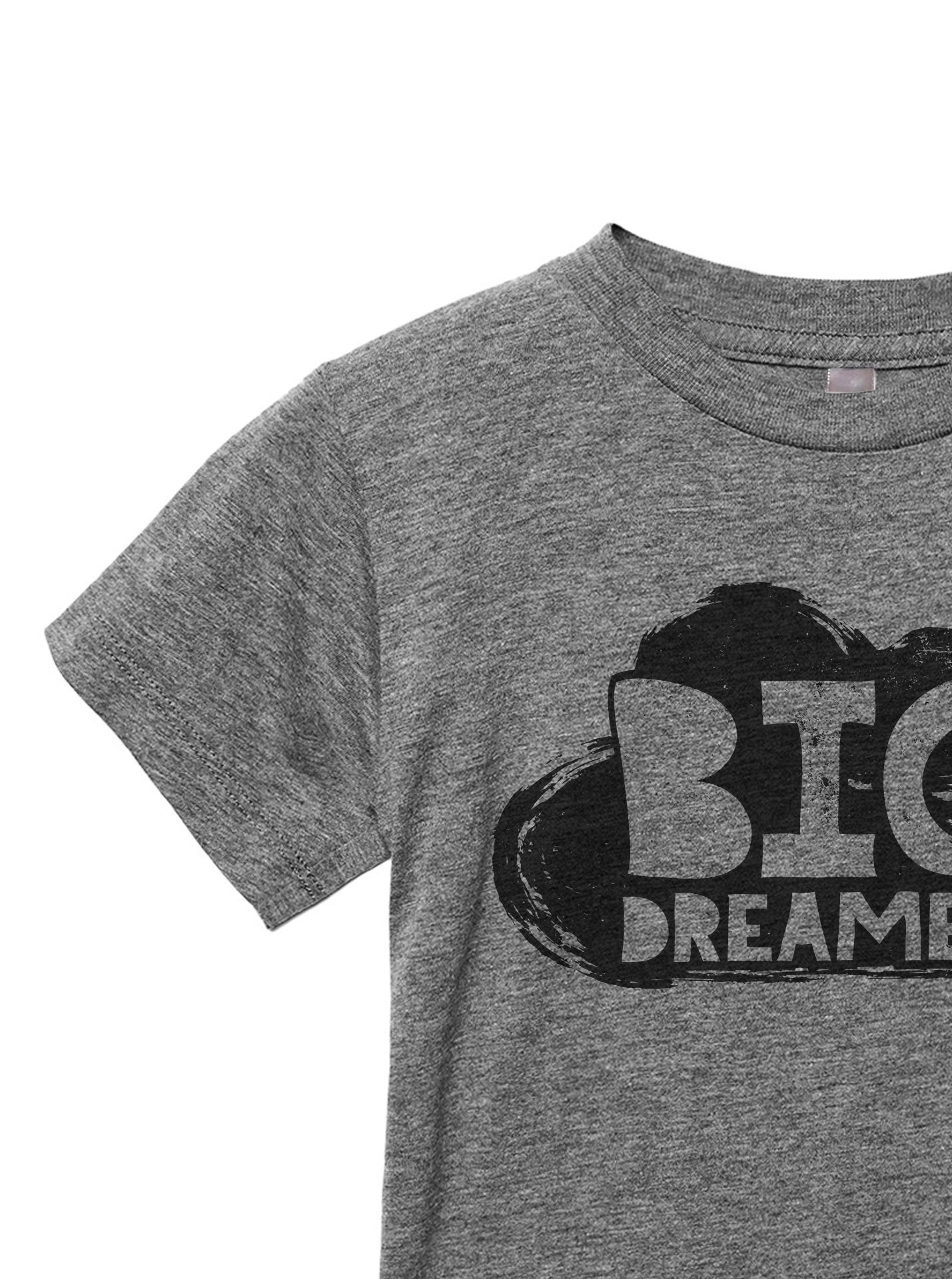 Big Dreamer Toddler's Go-To Crewneck Tee Heather Grey
