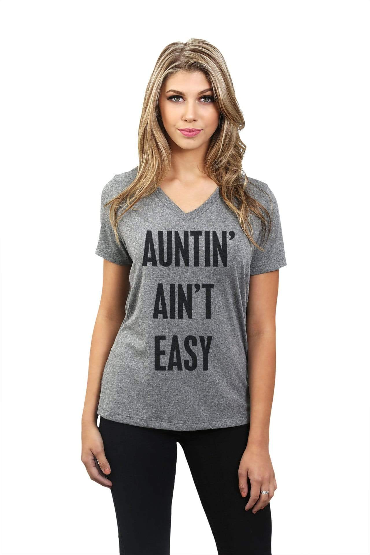 Auntin' Ain't Easy - Thread Tank | Stories You Can Wear | T-Shirts, Tank Tops and Sweatshirts