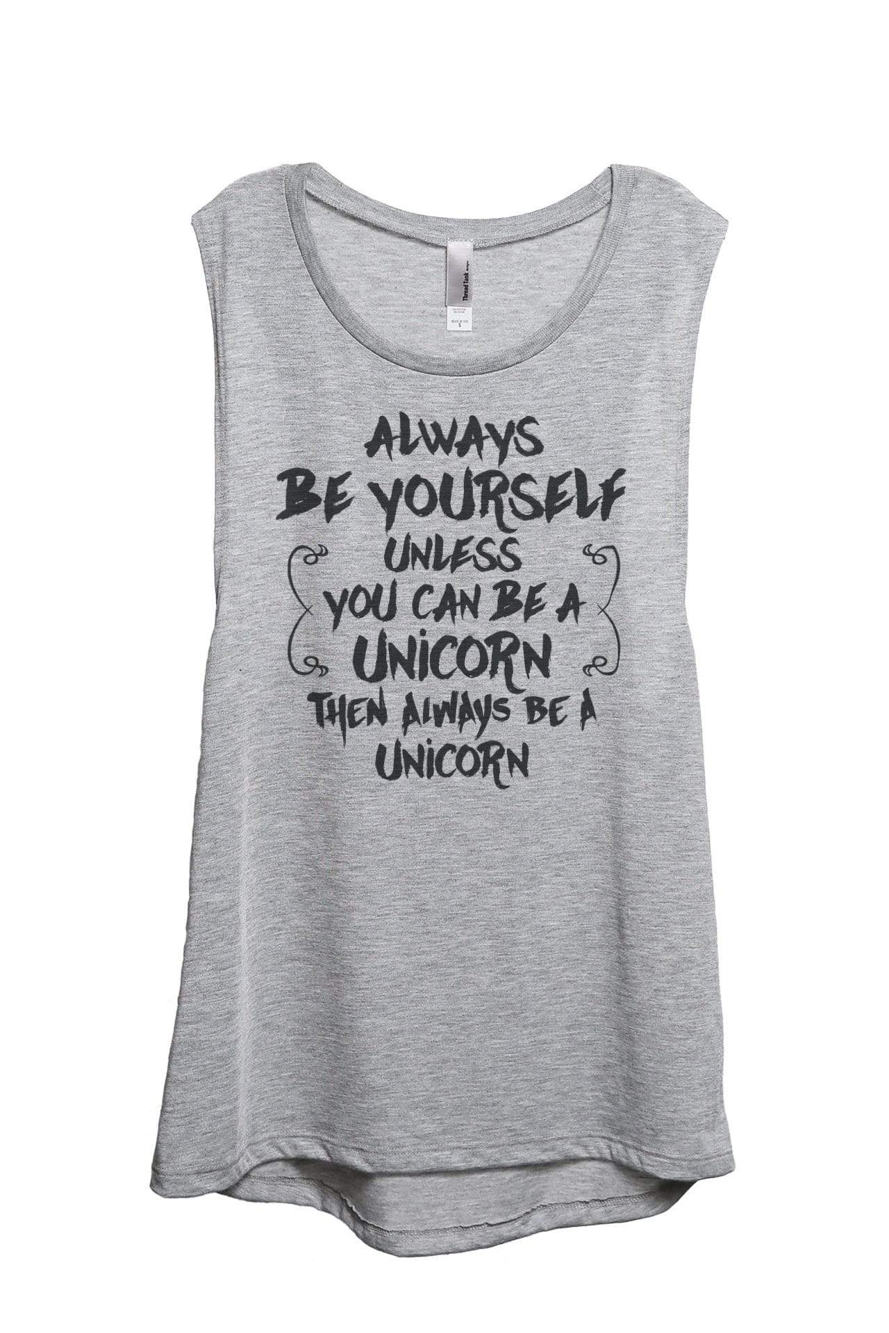 Always Be Yourself, Unicorn - Thread Tank | Stories You Can Wear | T-Shirts, Tank Tops and Sweatshirts