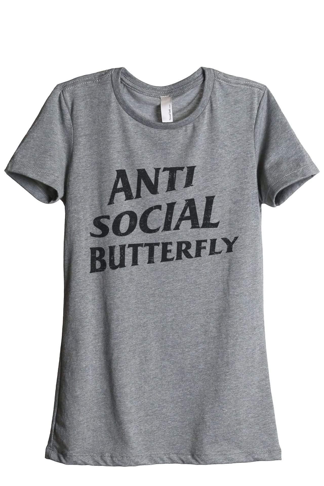 Anti Social Butterfly - Thread Tank | Stories You Can Wear | T-Shirts, Tank Tops and Sweatshirts