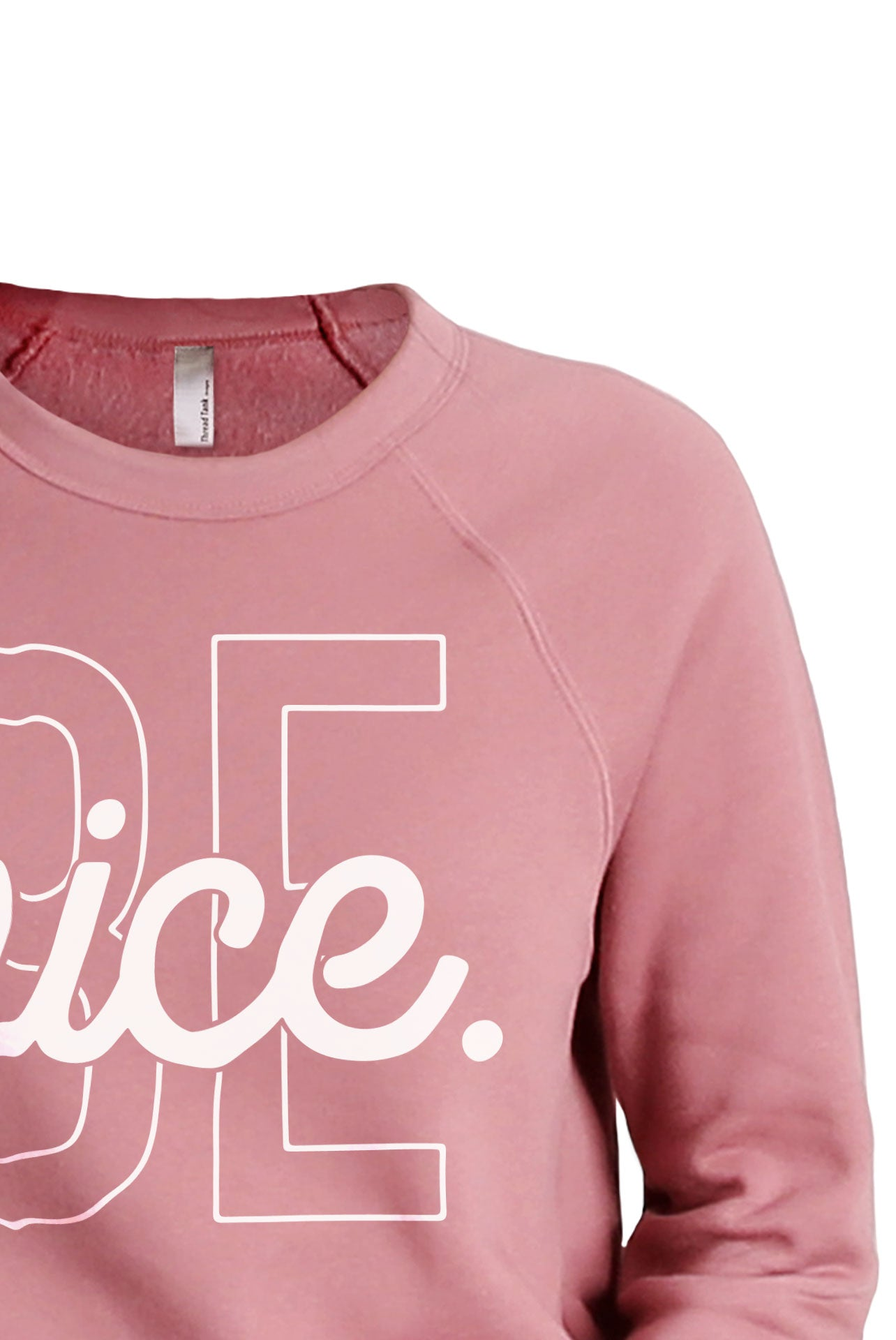 Be Nice Women's Cozy Fleece Longsleeves Sweater Rouge FRONT