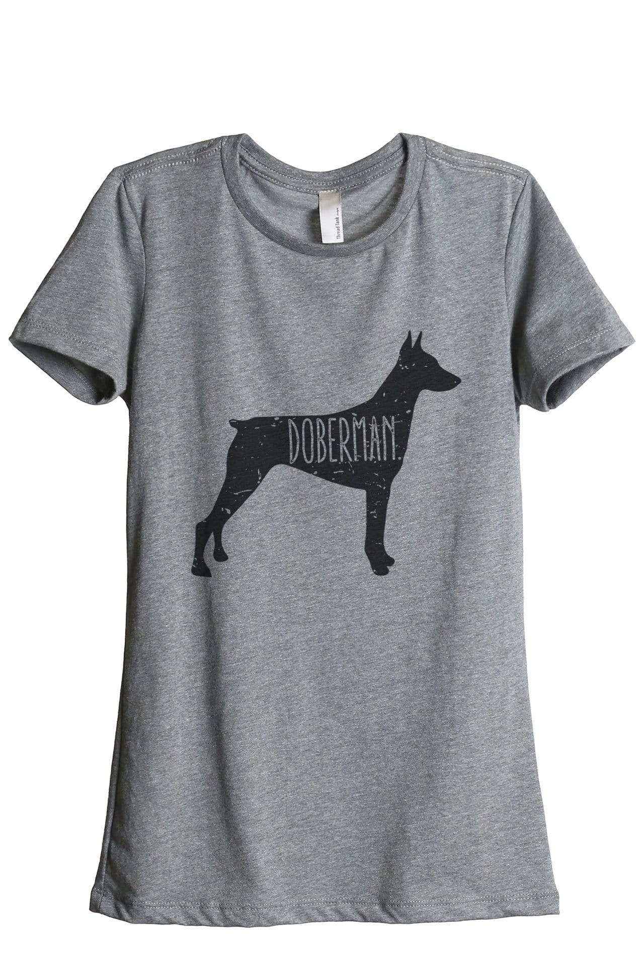 Doberman Dog Silhouette - Thread Tank | Stories You Can Wear | T-Shirts, Tank Tops and Sweatshirts