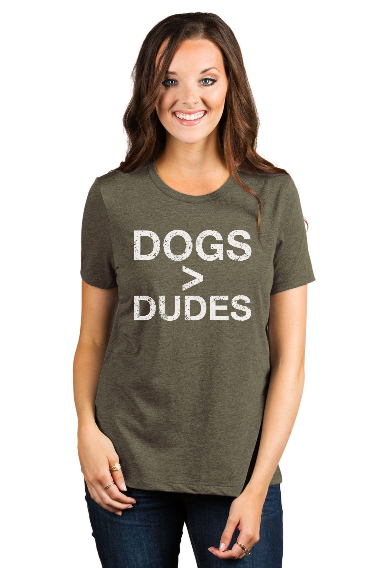 Dogs Greater Than Dudes - Thread Tank | Stories You Can Wear | T-Shirts, Tank Tops and Sweatshirts