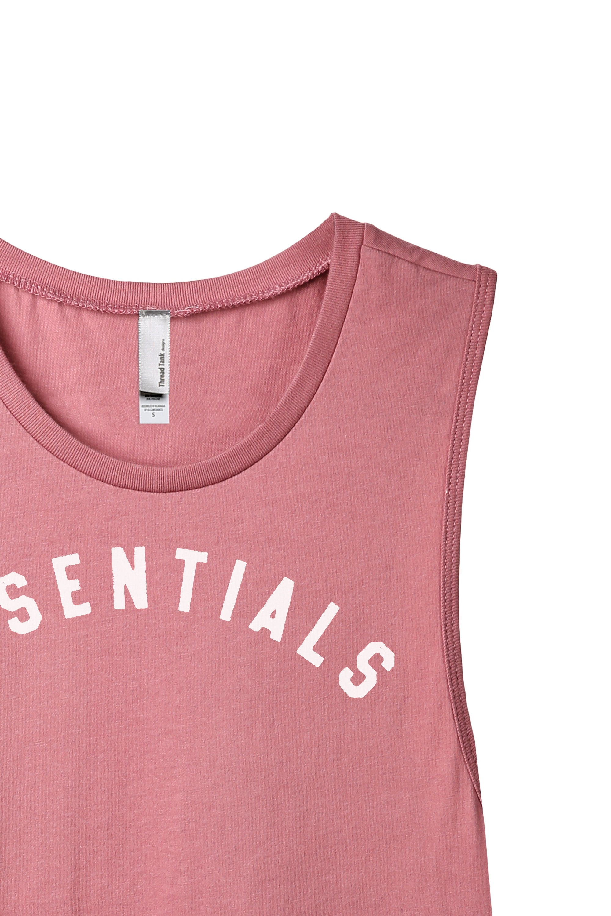 Essentials Women's Relaxed Muscle Tank Tee Rouge