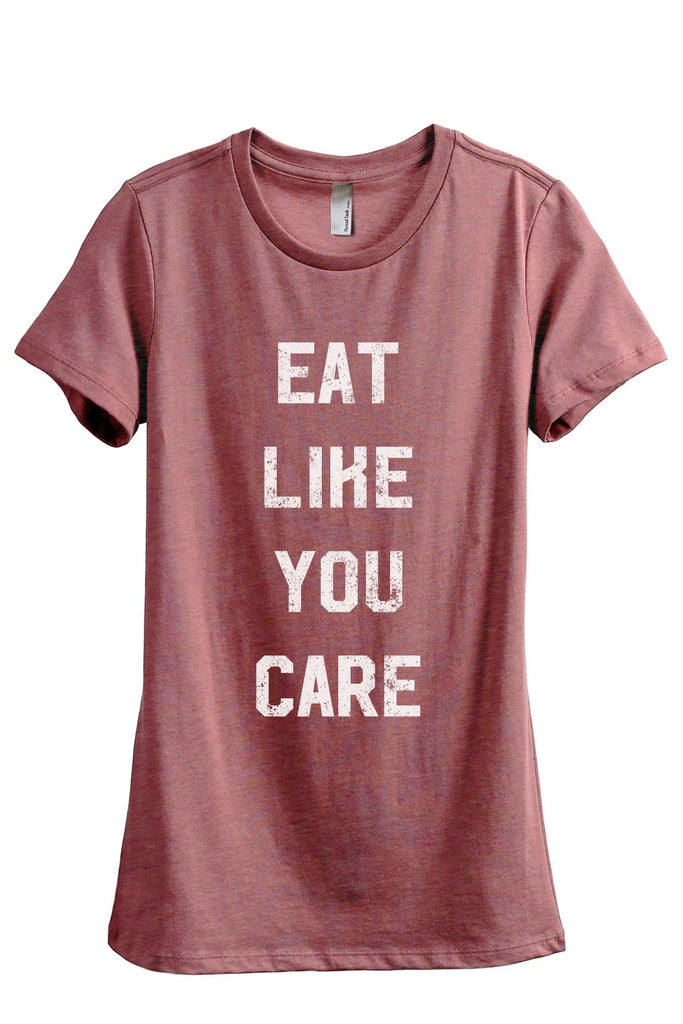 Eat Like You Care - Thread Tank | Stories You Can Wear | T-Shirts, Tank Tops and Sweatshirts