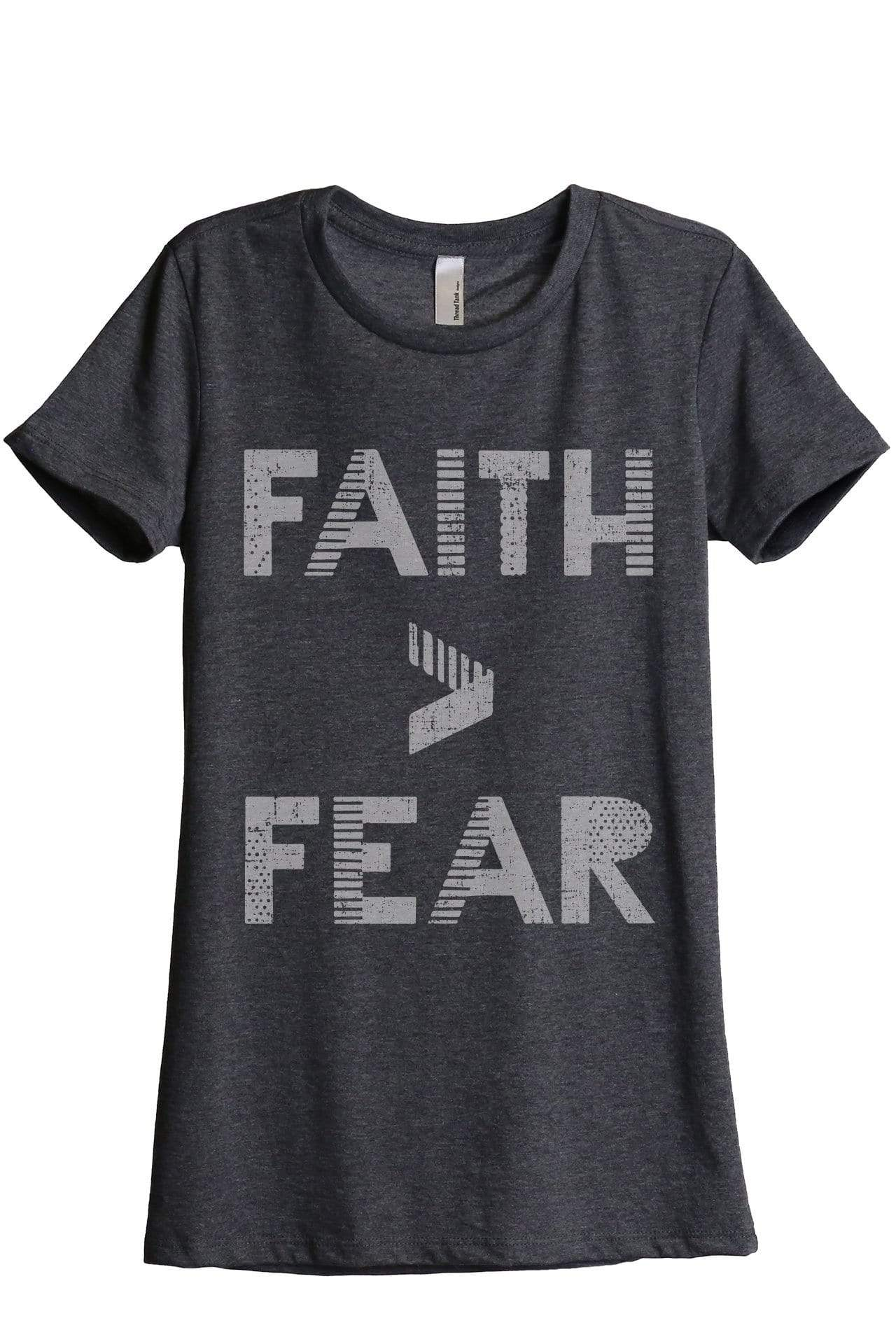 Faith Greater Than Fear - Thread Tank | Stories You Can Wear | T-Shirts, Tank Tops and Sweatshirts