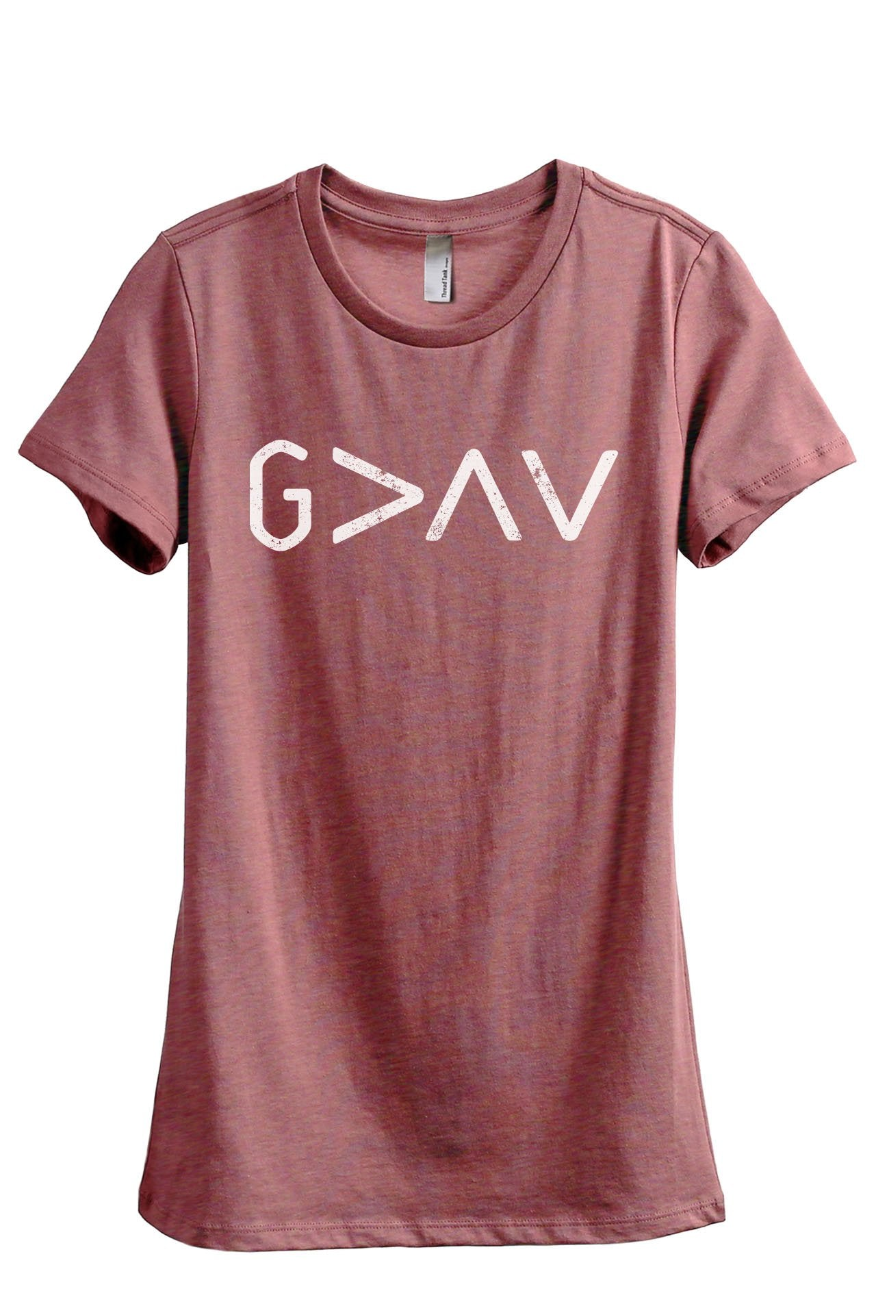 God Is Greater Than The Highs And Lows - Thread Tank | Stories You Can Wear | T-Shirts, Tank Tops and Sweatshirts