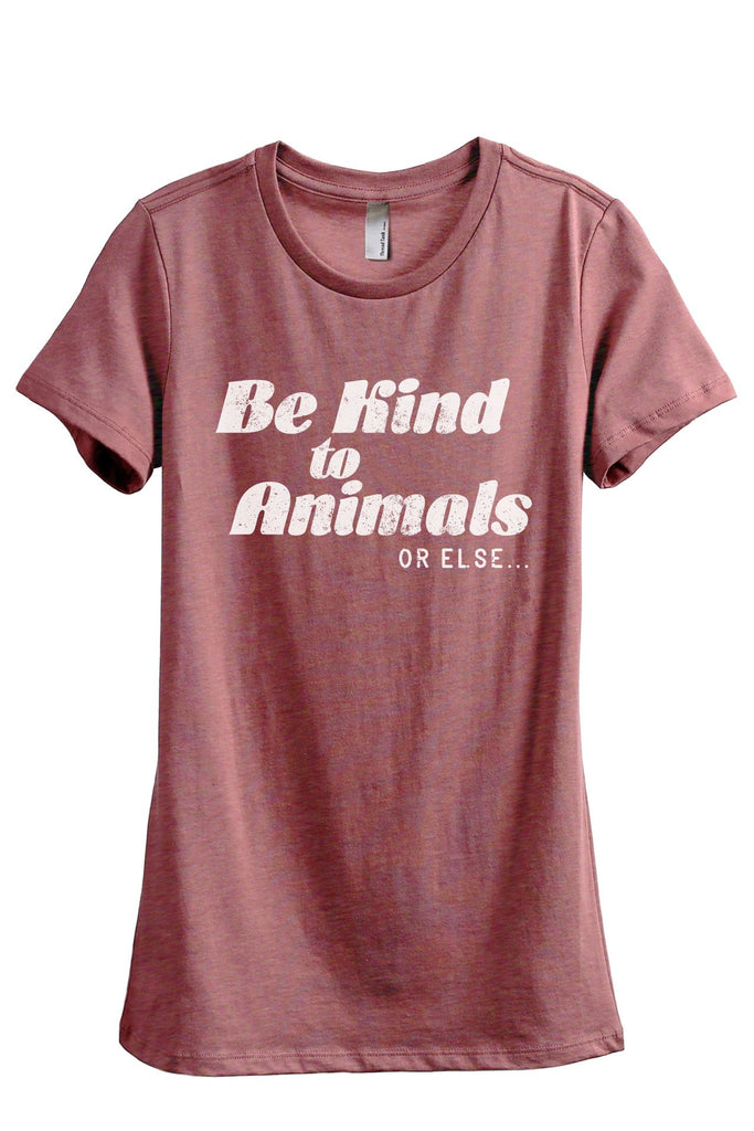 Be Kind To Animals Or Else - Thread Tank | Stories You Can Wear | T-Shirts, Tank Tops and Sweatshirts