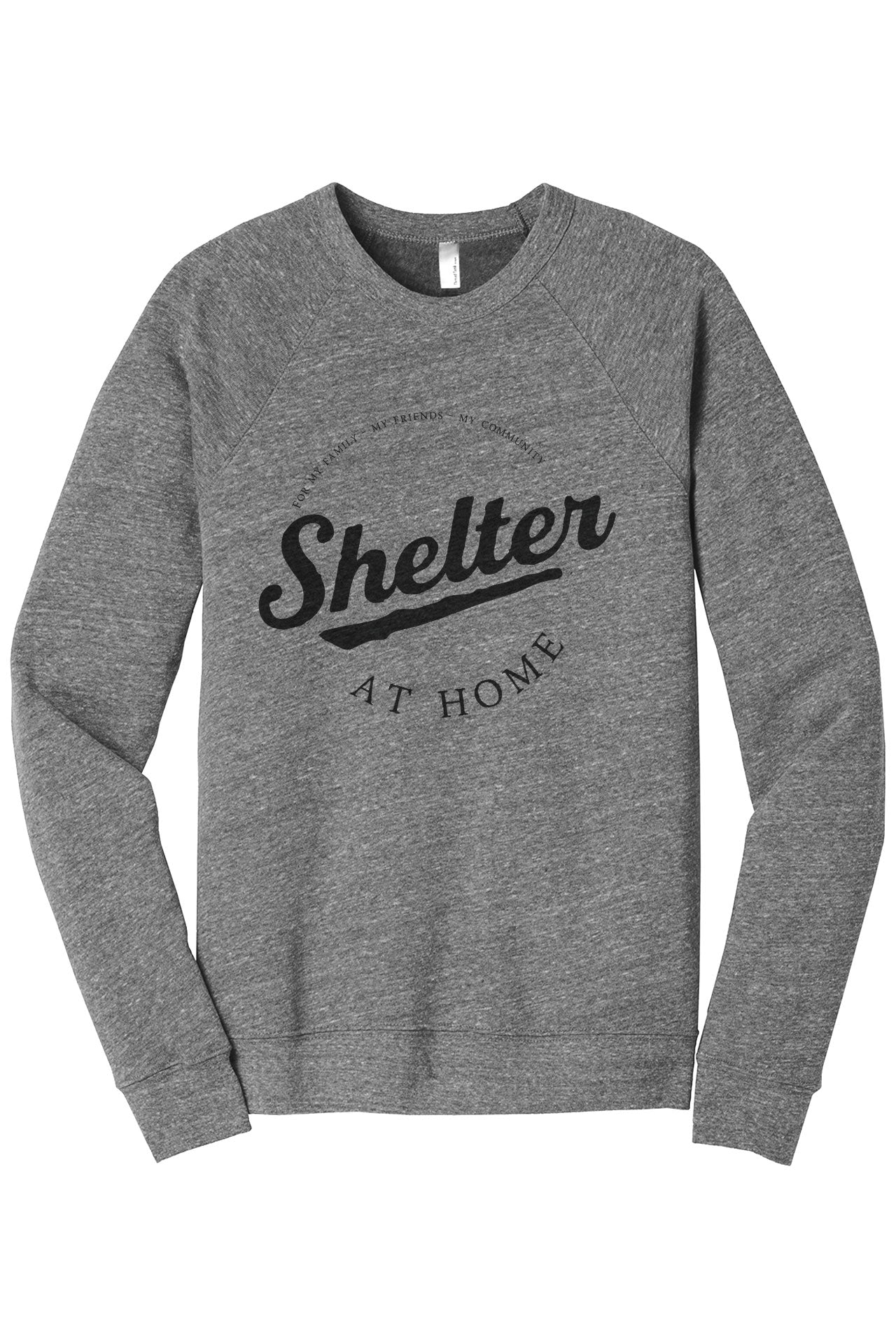 Shelter At Home Women's Cozy Fleece Longsleeves Sweater Rouge Closeup Details