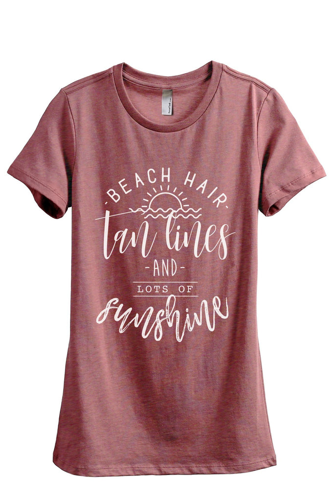 Beach Hair Tan Lines Sunshine - Thread Tank | Stories You Can Wear | T-Shirts, Tank Tops and Sweatshirts