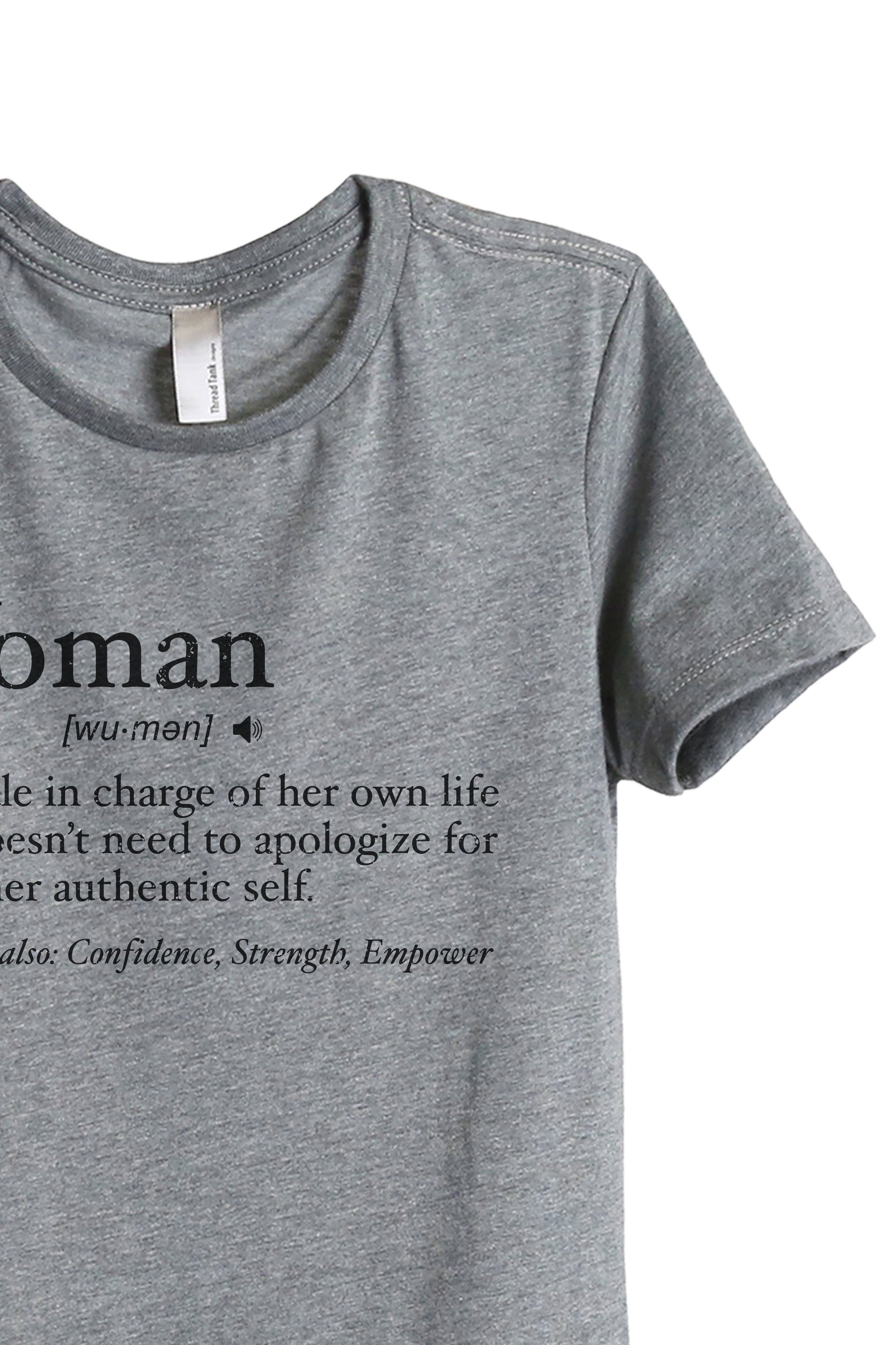 Woman Definition - Stories You Can Wear by Thread Tank