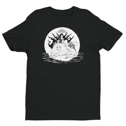 Moon Destroys Short Sleeve T-shirt