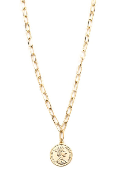 Queen Elizabeth Pendant Necklace