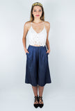 ASTR Ashley Indigo Culottes