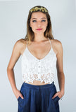 ASTR Lace Crop Top