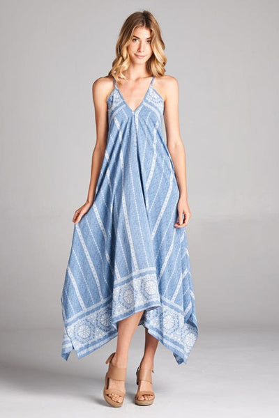 Beach Addict Maxi Print Dress