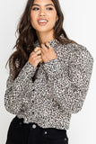 lush clothing leopard print top