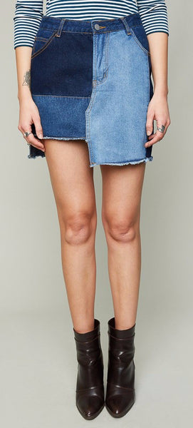 4e65bf3d82 Deconstructed Denim Skirt – Trèscool