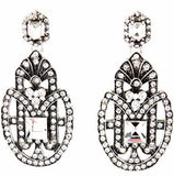 Alexa Crystal Drop Earrings