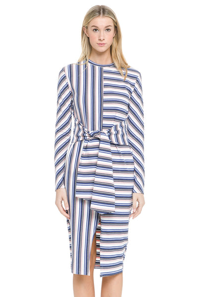 English Factory Multistripe Dress