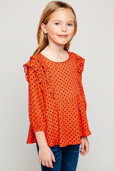 Girls Polkadot Blouse
