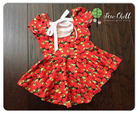 PEPLUM - Fresh Strawberries