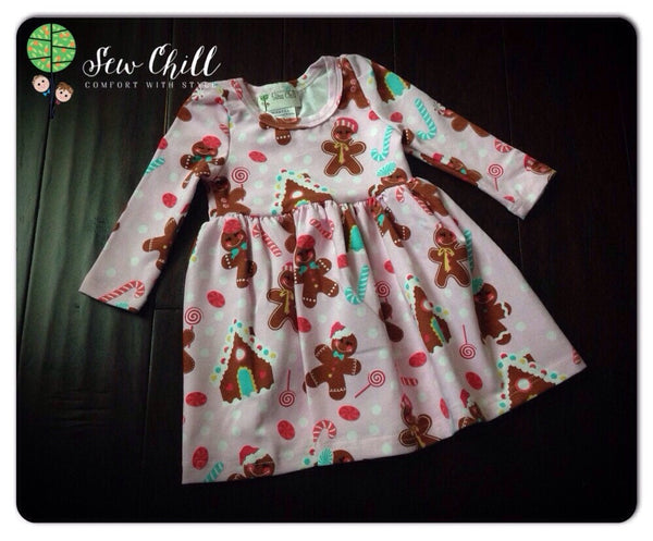 DRESS - Gingerbread Cookie