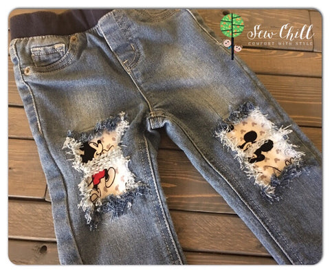 JEGGINGS - Hey Mickey (18-24m)