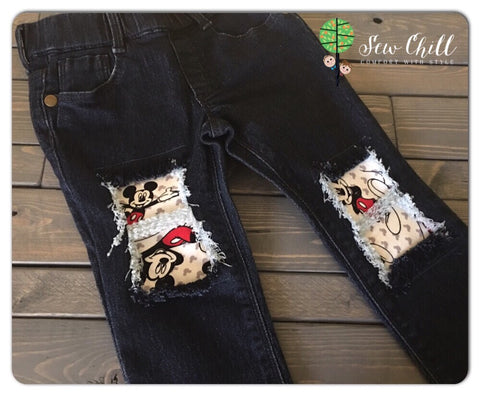 JEGGINGS - Hey Mickey