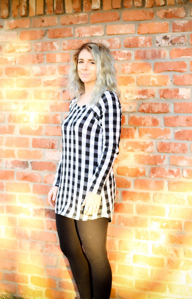 WOMENS TUNIC - Perfectly Plaid