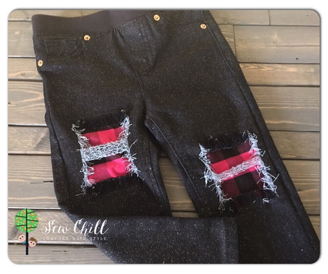 JEGGINGS - Punk Pink