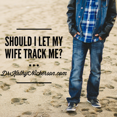 Should I let my wife track me after affair?