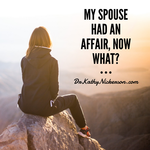 my spouse just had an affair - now what? | Relationship advice from Dr Kathy
