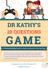 Get a free copy of our 20 Questions Game here | Dr Kathy Nickerson