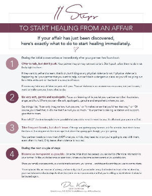 how to get over an affair partner