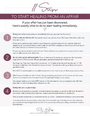 11 Steps To Recover From An Affair