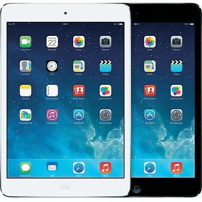 Apple iPad Mini 2 Wi-Fi / Cellular Tablet Black White (16GB 32GB 64GB 128GB)