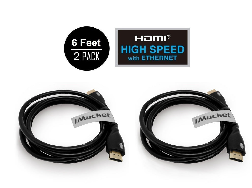 hdmi high speed cable 6 feet imkt gmd. Black Bedroom Furniture Sets. Home Design Ideas