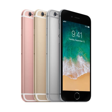 Apple iPhone 6S LTE Smartphone Black Silver Rose Gold (16GB 32GB 64GB 128GB)