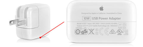 Apple 5W / 10W USB Power Adapter for iPhone / iPad (Open-Box)