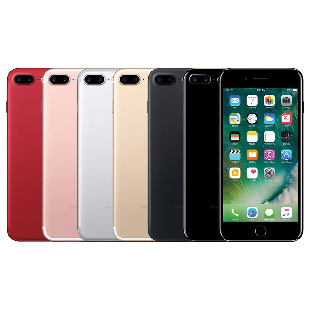 Apple iPhone 7 Plus LTE Smartphone Jet Black Silver Rose Gold Red (32GB 128GB 256GB)