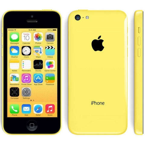 Apple iPhone 5C LTE GSM Smartphone Blue Green White Yellow Pink (8GB 16GB 32GB)