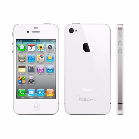 Apple iPhone 4S 4G GSM Smartphone Black White (8GB 16GB 32GB)