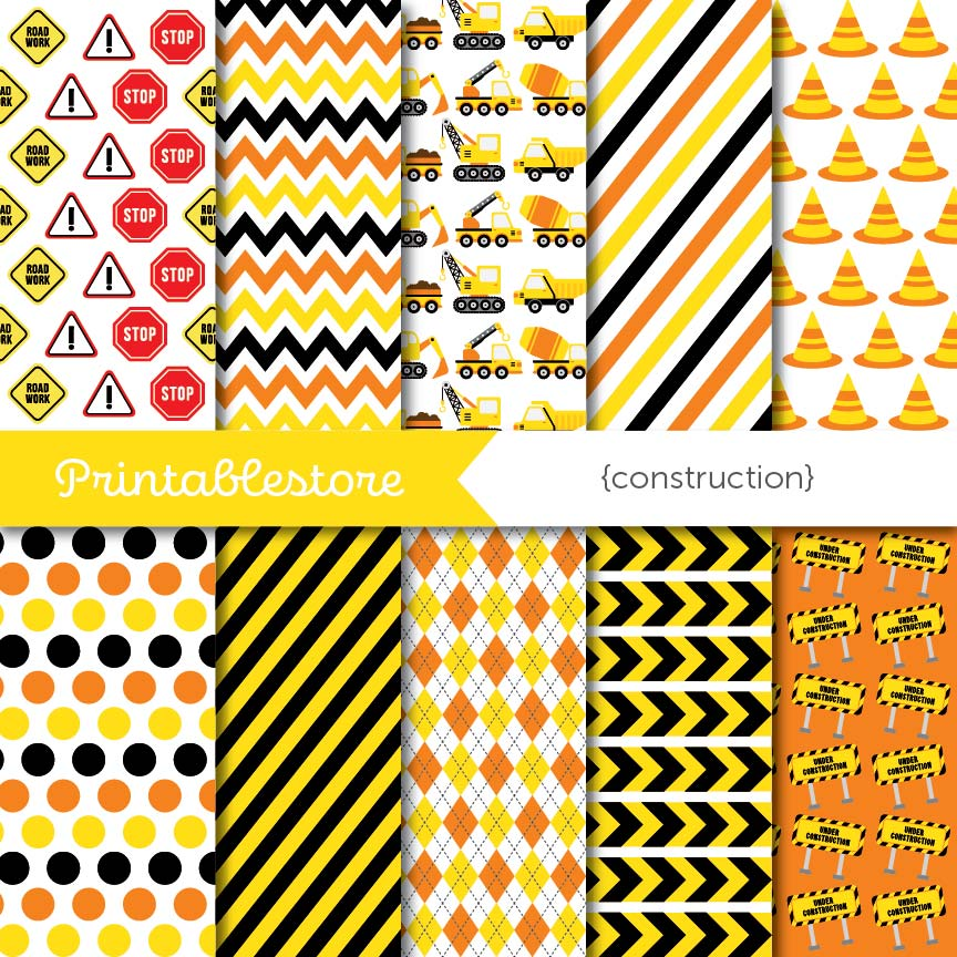 Construction Digital Paper