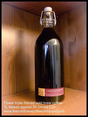 Triple Filtered Single Origin Cold Brew 1L