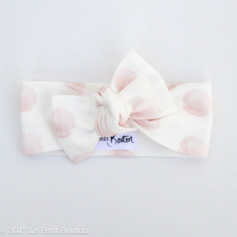 HS17 EXCLUSIVE Marshmallow Bow Knot Headband - Le Petit Bouton